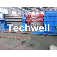 3 - 6mm Corrugation Rolling Machine With 45kw Motor and PLC Control Box Manufactures