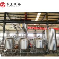 China Stainless Steel Electric Beer Brewing System , 1000L Small Batch Brewing System on sale