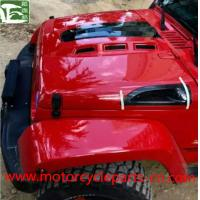 Buy cheap Jeep Wrangler Off Road 4 * 4 Avenger Engine Hood With Carbon Fiber Vents from wholesalers