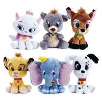 8inch Disney Big Head Classtic Characters Soft Doll Cartoon Stuffed Plush Toys Manufactures