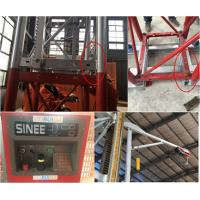 5 Rack Modulus Material Lift Elevator , Material Hoisting Equipment With Reduction Ratio 1 / 18 Manufactures