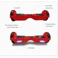 Portable classic Smart Balance Hoverboard two wheels scooter with running lights and bluetooth Manufactures