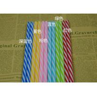 Wedding banquet fruit juice beverage Colored Paper Straws for drinking Manufactures