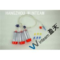 China Double Layer Packaging Sterility Test Canister SS304 Needle 50mm Diameter Filter on sale