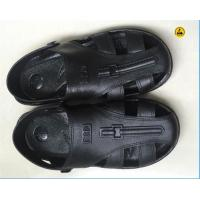 EPA ESD Safety Shoes SPU Sandal Toe Protected 6 Holes Black Blue White Size 36# - 46# Manufactures