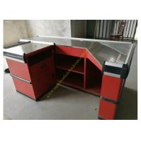 Mutiple Retail Store Cash Register , Supermarket Counter Table Recyclable Manufactures