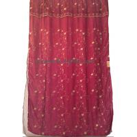 Buy cheap organza embroidered curtain,finished window curtain from wholesalers
