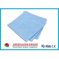 China Spunlace Printing Non Woven Cleaning Wipes , Bathing Household Cleaning Wipes on sale