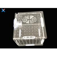 Aquarium Acrylic Modern Furniture / Clear Acrylic Isolation Box For Baby Fish Manufactures