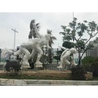 Mirror Surface Large Metal Wall Art Sculptures For Outdoor Road Decor Manufactures
