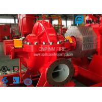 China UL Listed Red Color Split Case Fire Water Pump Ductile Cast Iron Material on sale