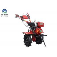 Sturdy Small Flower Bed Tiller / Rear Tine Garden Tiller With 6L Fuel Tank Capacity Manufactures