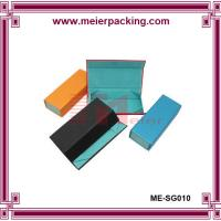 China Magnetic closure cardboard paper box, printed color paper box for glass ME-SG010 on sale