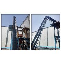 Lifting Corrugated Sidewall Belt Conveyor Condition New For Mining Coal Cement Manufactures