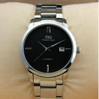 Quality Prosver dani Silver Stainless Steel Mens Watches With Transparent Caseback for sale