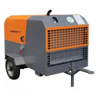 China 18bar China famous Mobile Diesel Surface Drilling Screw Air Compressor for oil gas exploration on sale