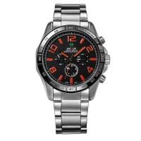 stainless steel case back mens watches vintage quartz mens watches  big face watches Manufactures