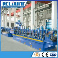 ERW Steel tube making line to make galvanized steel carbon steel tubes and pipes Manufactures