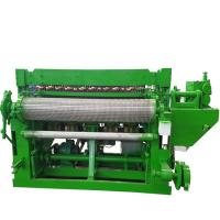 PLC Controlled Fence Mesh Welding Machine 3-6mm Wire Diameter Easy To Operate Manufactures