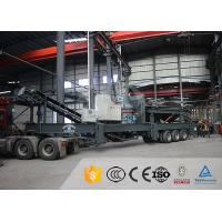 China Chemical Industry Mobile Quarry Plant Electric Motor Mobile Stone Crusher Machine for sale