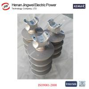 China China Manufacturer 35KV High Voltage Silicon Rubber Composite Suspension Insulator on sale