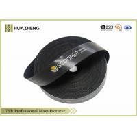 25mm Black Reusable Double Sided Hook And Loop Tape with Customized Logo Manufactures