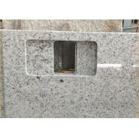 China Giallo Sf Real Solid Granite Worktops For Kitchen / Bathroom White Color on sale