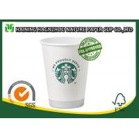 Single Wall Branded Paper Coffee Cups Food Grade Full Colour Printing Manufactures