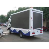 P6 67 Truck Mobile Led Display Video , trailer mounted led screen 1