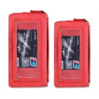 Mobile Phone Bag Retro Pattern Double Zipper Multifunction Leather Wallet Holster For Samsung IPhone Manufactures