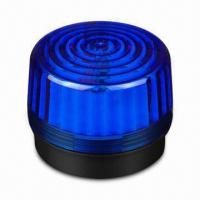 Blue Strobe Flasher for Warnings, with 200mA Current Consumption and 6 to 12V DC Operating Voltage  Manufactures