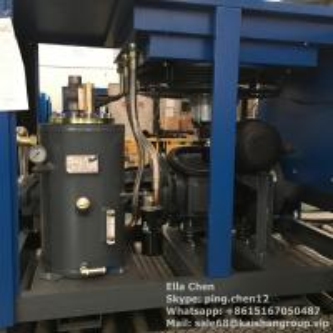 Quality Heavy Duty Split Mountain Screw Type Air Compressor 75kW  350V - 410V 50Hz for sale