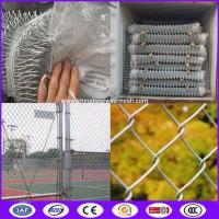 China 50mm Cyclone Wire Mesh Chain Link Fencing made in China on sale