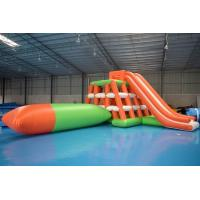 0.9mm PVC Tarpaulin Inflatable Water Sports /  Water Park Games Manufactures