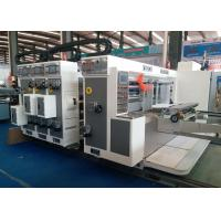Quality 900X2200 Automatic Flexo Water Iink Printer Slotter Machine for Corrugated Box for sale