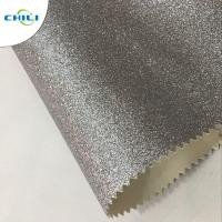 China OEM ODM Glitter Fabric Paint , White Glitter Fabric Colorful Wall Covering on sale