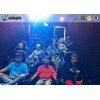 Mobile 5D Movie Theater With Truck And Usually Set 9 Seats Electronic Motion Chairs Manufactures