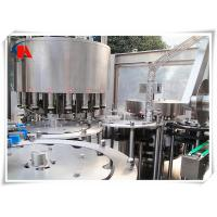 Liquid Washing Filling Capping Machine , Industrial Bottle Filling Machine 5.6KW Power Manufactures