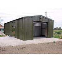Dairy Farm Building with Insulated Steel Walls Manufactures