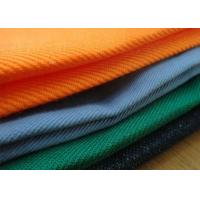Woven Cotton Fire Retardant Fabric Oli Proof Finish Twill Style For Bag Luggage Manufactures