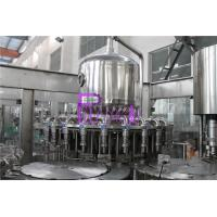 Plastic Bottle Fresh Juice Filling Machine PLC Control With Touch Screen Manufactures