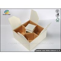 China Handmade Cardboard Gift Boxes Convenient Packaging Sub Box With Compartments on sale