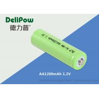 1200mAh 1.2V AA NIMH Rechargeable Battery With SGS / MSDS Certification Manufactures