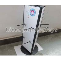 Rotating Tabletop Display Stand , Three Sided Pyramid Display Stand Manufactures