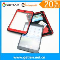 Red Ipad Mini Protective Case With Wallet , Dust Resistant Manufactures