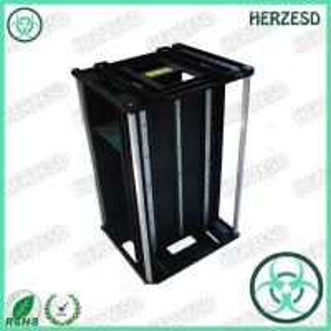 China HZ-2601 Plastic Material ESD PCB Magazine Rack on sale