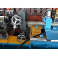 PLC Octagonal Pipe Rolling Shutter Profile Machine With Flying Saw Cutting