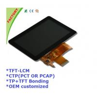 China 5 Touch screen panel and LCM and optical bonding for Industrial control device on sale