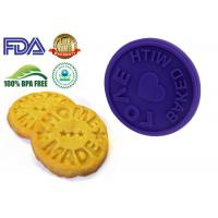 Custom Made Diy Silicone Cookie Molds For Microwave Cake FDA approved