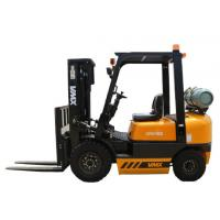 Four Wheel Counterbalance Gas Forklift Truck With Side Shifter Customized Manufactures